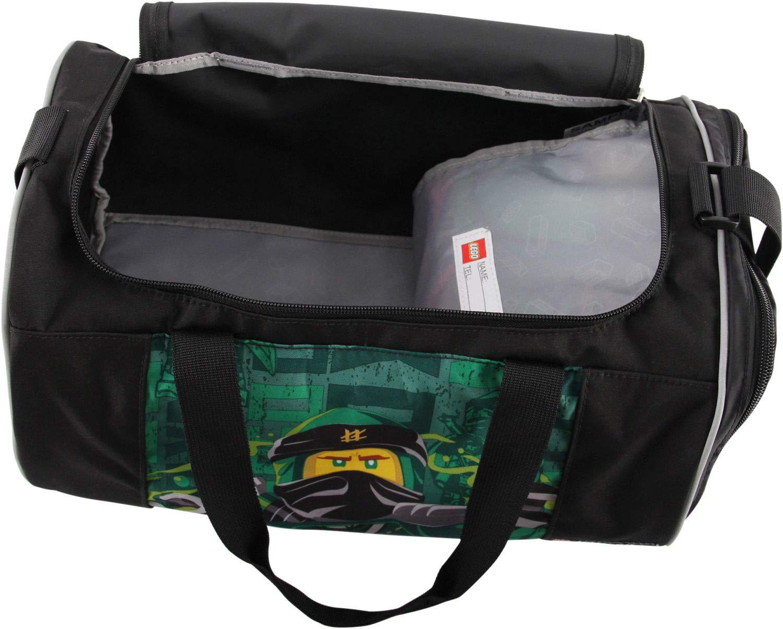 LEGO-Bags-Lego-Bags-Sporttasche-mit-Nassfach-Reisetasche-fr-Kinder-Schulsporttasche-mit-Lego-Ninjago-Motiv-Sporttasche-39-cm