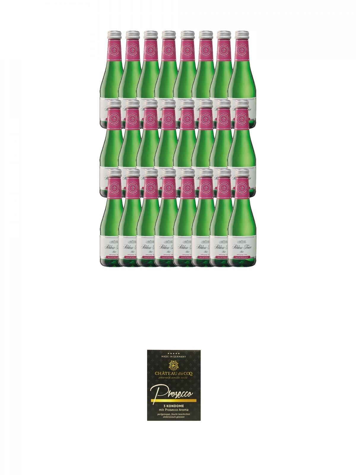 Schlo-Trier-Sekt-halbtrocken-Deutschland-24-x-02-Liter-Chateau-du-COQ-Prosecco-Kondom-3er-Packung