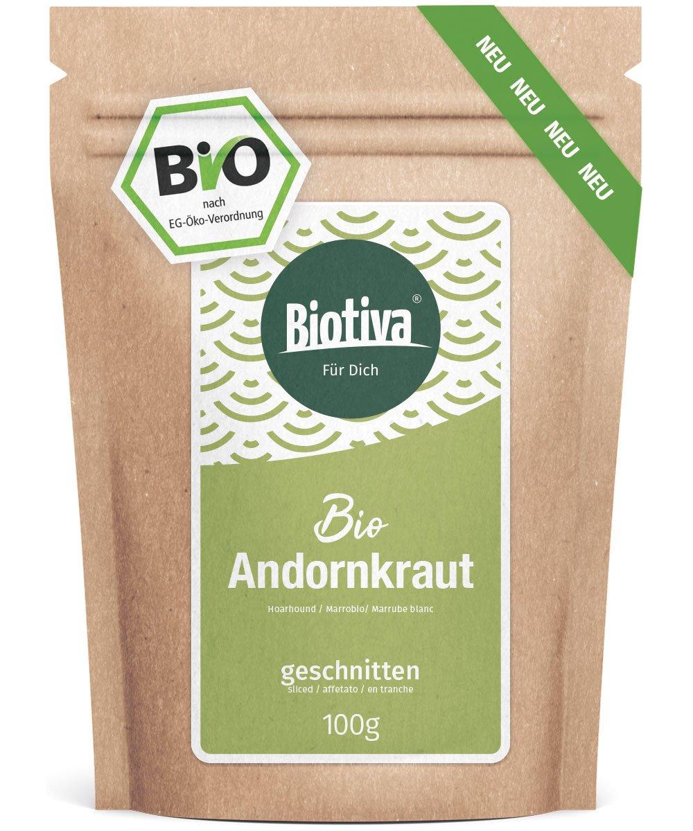 Andornkraut-Tee-Bio-100g-Weies-Andorn-Kraut-geschnitten-Arzneipflanze-des-Jahres-2018-Marrubium-vulgare-gefllt-und-kontrolliert-in-Deutschland-DE-KO-005