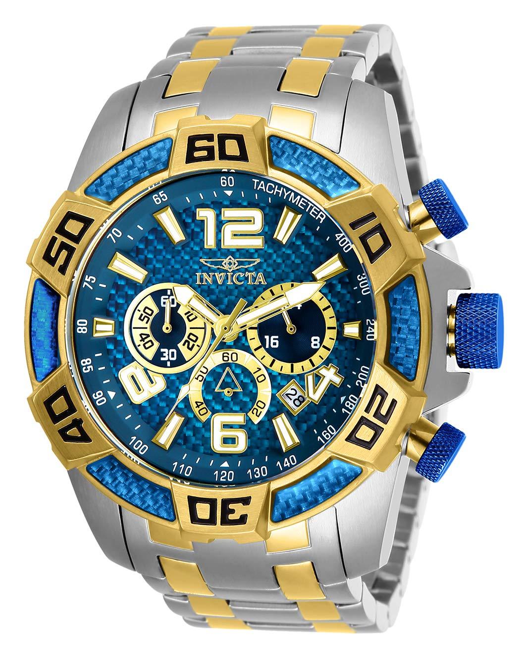 Invicta-Pro-Diver-Herren-Armbanduhr-Armband-Edelstahl-Gehuse-Quarz-25855