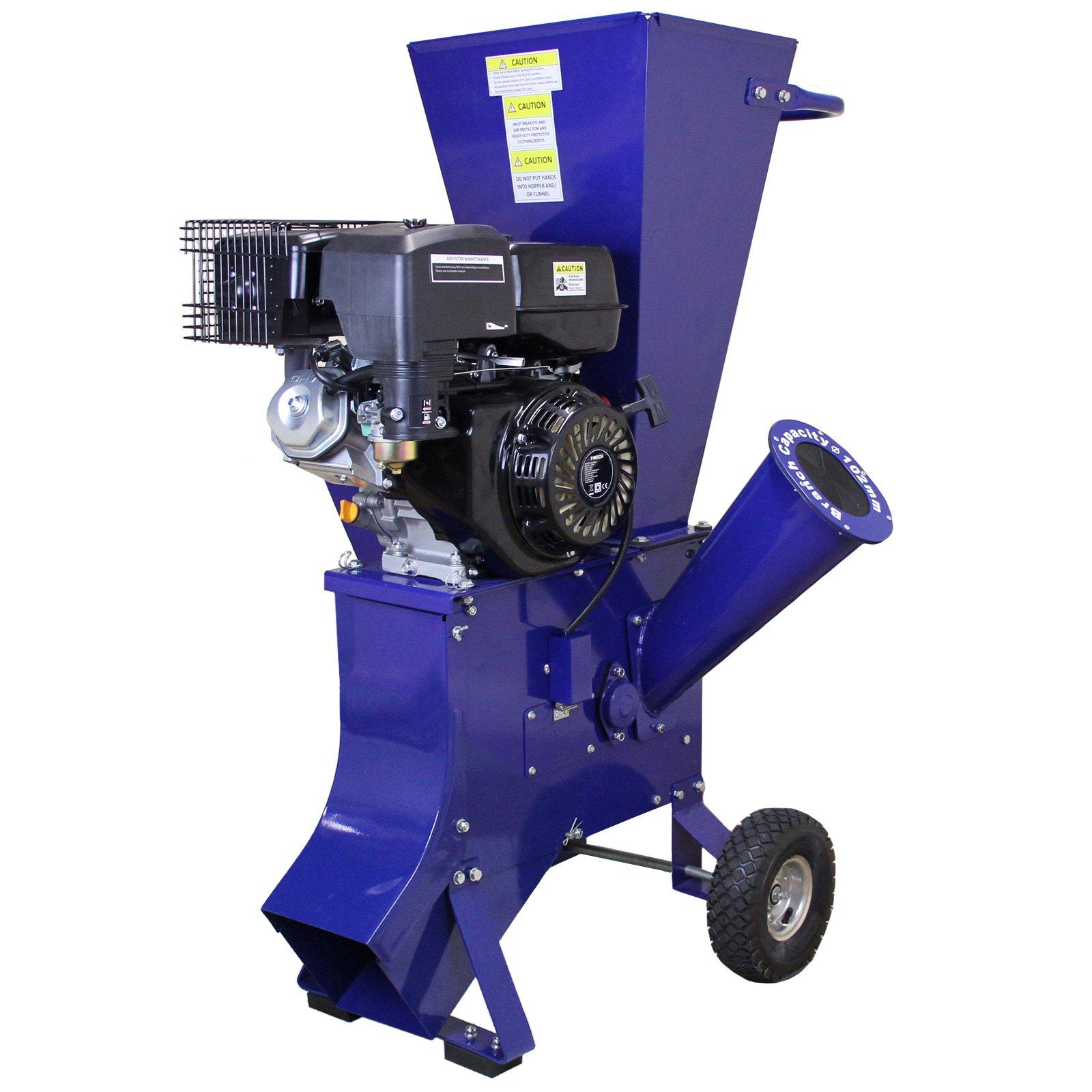 T-Mech-15-PS-4-Takt-420cc-Motorhcksler-Benzinhcksler-Gartenhcksler-Gartenhacker-Holzhacker-Holzhcksler-Gartenschredder-Schredder-Elektro-Hcksler