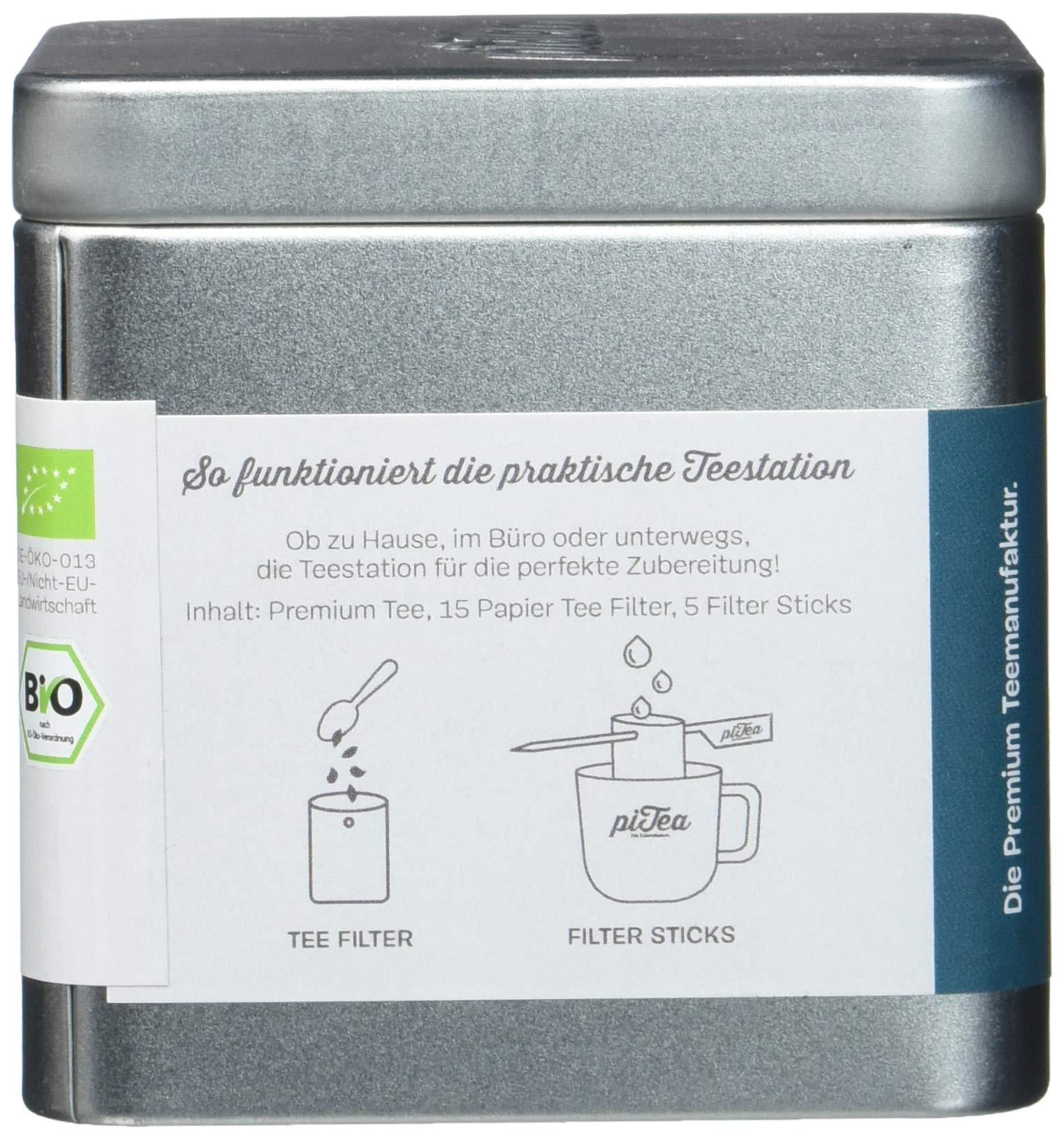 Pi-Tea-Dolce-Vita-Dose-Grner-Tee-Bio-Teestation-natrlich-und-vegan-1er-Pack-1-x-75-g