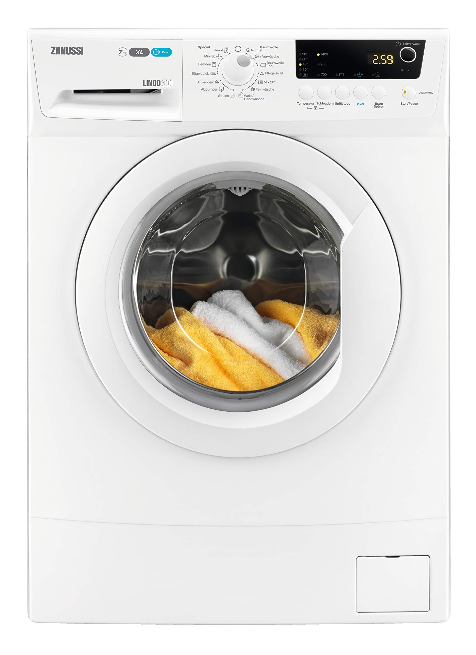 Zanussi-ZWS71420V-Kompakte-Waschmaschine-mit-nur-491-mm-Tiefe-70-kgKindersicherung-1400-Umin