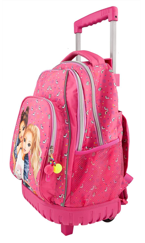 Depesche-10360-Schulrucksack-Trolley-TopModel-pink