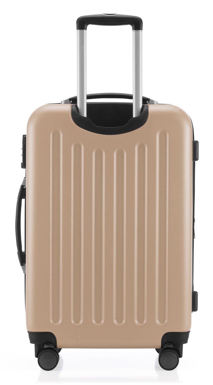 Hauptstadtkoffer-Spree-Hartschalen-Koffer-Koffer-Trolley-Rollkoffer-Reisekoffer-Erweiterbar-4-Rollen-TSA-65-cm-74-Liter-Champagner-Design-Kofferanhnger