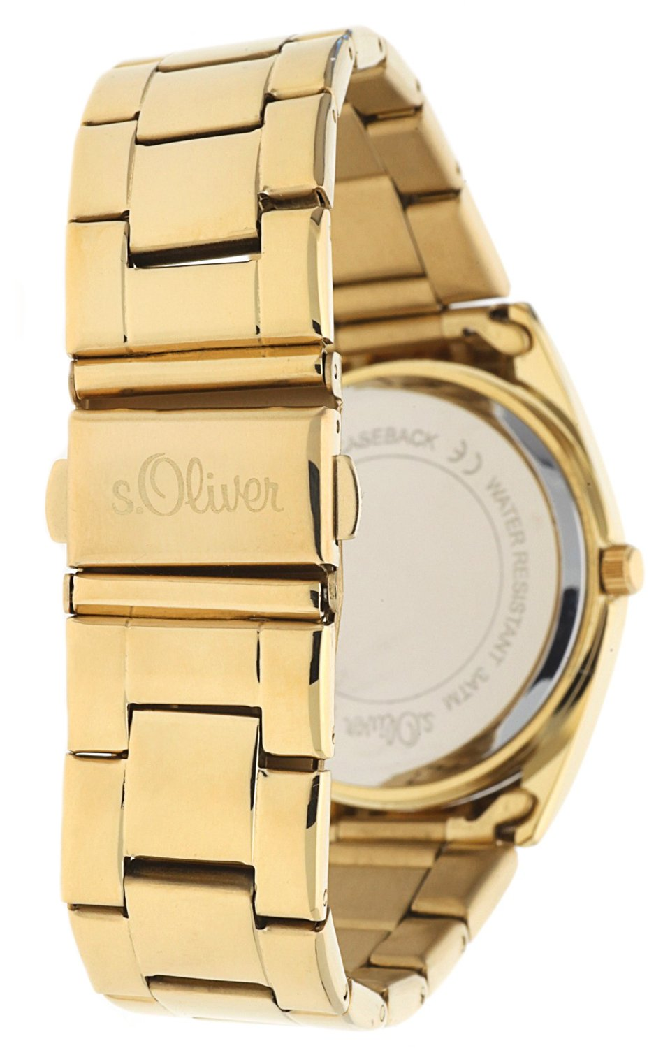 sOliver-Damen-Armbanduhr-Analog-Quarz-IP-Gold-SO-15138-MQR