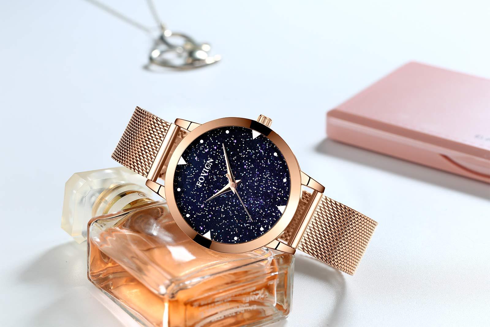 Frauen-Uhr-Frauen-Mode-Luxus-Armbanduhr-Geschfts-beilufiges-Kleid-Wasserdichte-Quarzuhr-und-blauem-Whlen