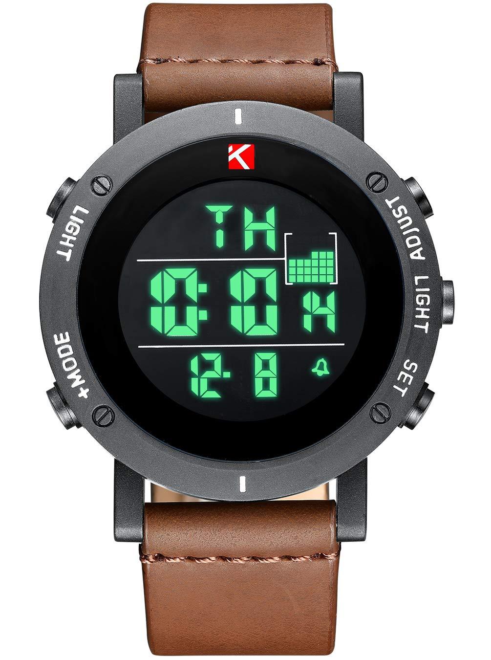 Herren-Uhren-Mnner-Militr-Digital-Chronograph-Wasserdichte-Sport-Uhr-Multifunktions-LED-Alarm-Tag-Datum-Kalender-Mode-Coole-Casual-Schock-Leder-Uhren-fr-Mnner-Jugendliche-Kinder