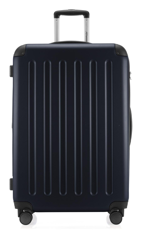 Hauptstadtkoffer-Spree-Hartschalen-Koffer-Koffer-Trolley-Rollkoffer-Reisekoffer-Erweiterbar-4-Rollen-TSA-75-cm-119-Liter-Dunkelblau