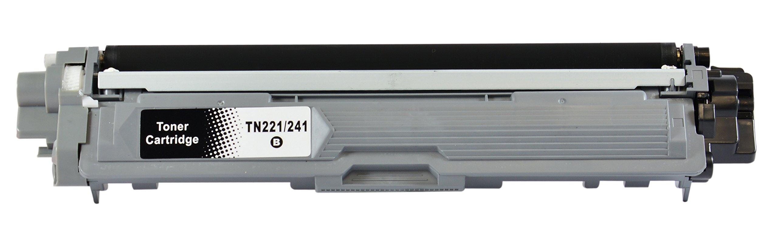 Bubprint-5-Toner-kompatibel-fr-Brother-TN-241-TN-245-fr-DCP-9020CDW-HL-3140CW-HL-3150CDW-HL-3170CDW-MFC-9130CW-MFC-9140CDN-MFC-9330CDW-MFC-9340CDW