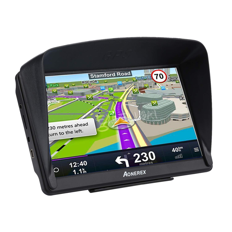 g nstig aonerex navigationsger t 7 zoll gps navi navigation resistivem display navigationssystem. Black Bedroom Furniture Sets. Home Design Ideas