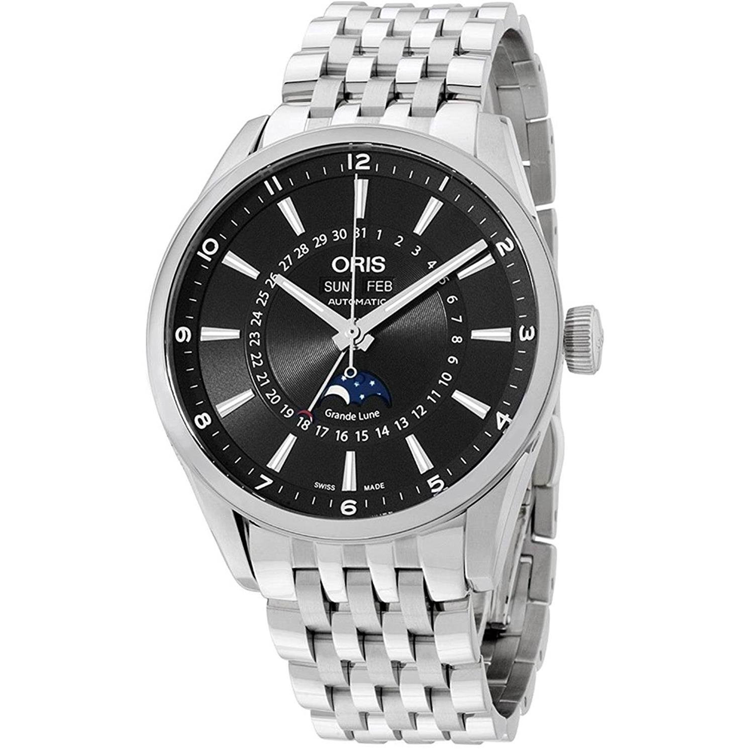 ORIS-Herren-Armbanduhr-42MM-Schweizer-AUTOMATIK-ANALOG-91576434034MB