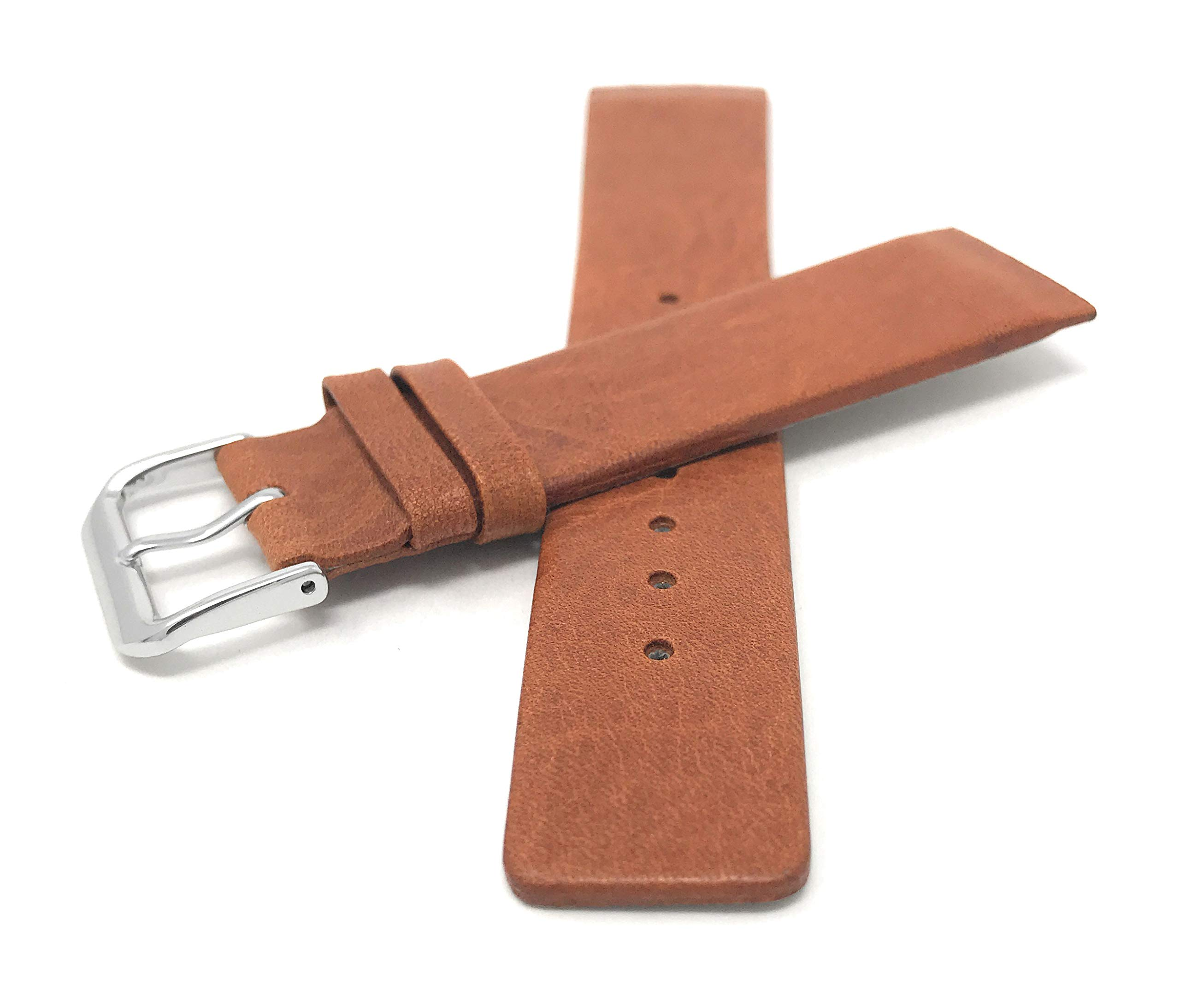 14mm-31mm-Leder-Uhrenarmband-Fr-Skagen-Braun-Schwarz-Und-Wei