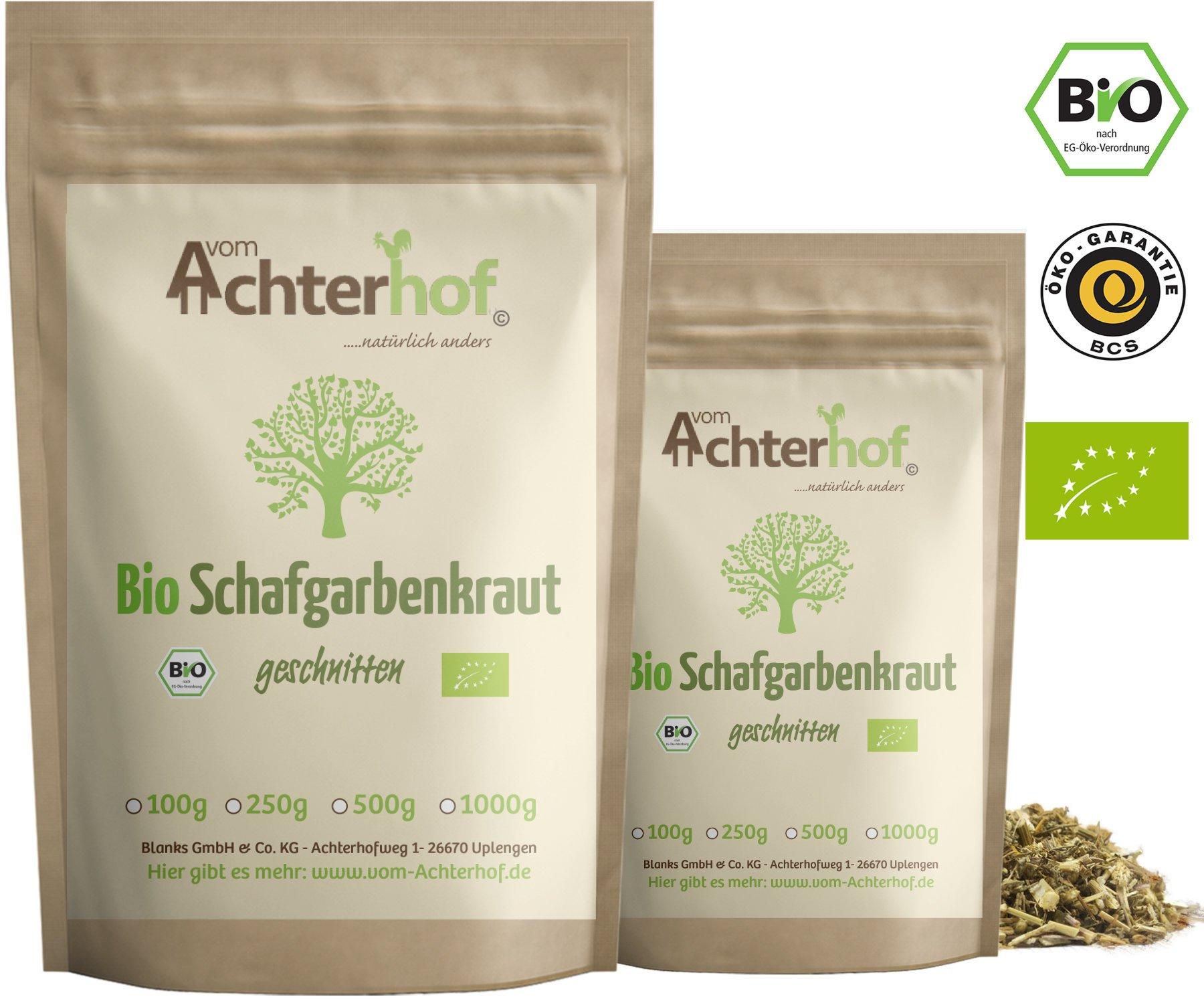 Schafgarbenkraut-BIO-100g-Schafgarbentee-Schafgarbe-Tee-organic-yarrow-herb-vom-Achterhof