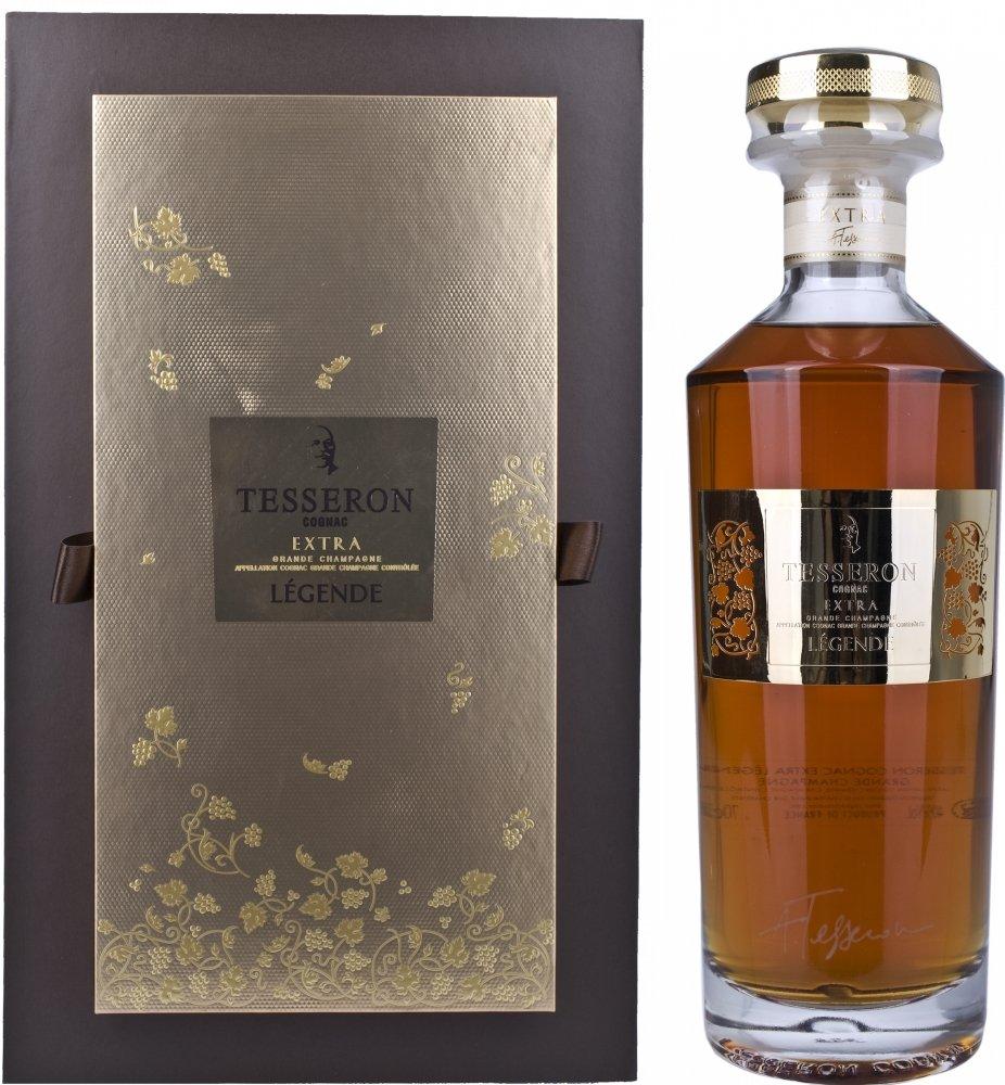 Tesseron-Extra-Lgende-La-Collection-Signature-Limited-Edition-mit-Geschenkverpackung-Cognac-1-x-07-l