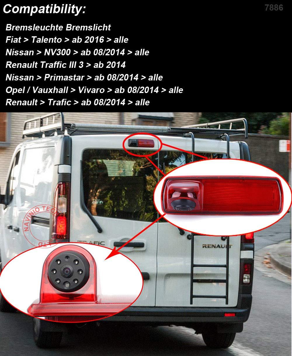 Dynavision-Auto-Dritte-Dach-Top-Mount-Bremsleuchte-Kamera-Bremslicht-Rckfahrkamera-fr-FIAT-Talento-Nissan-NV300-Primastar-Renault-Traffic-3-opel-Vauxhall-vivaro7-LCD-TFT-Monitor-HD