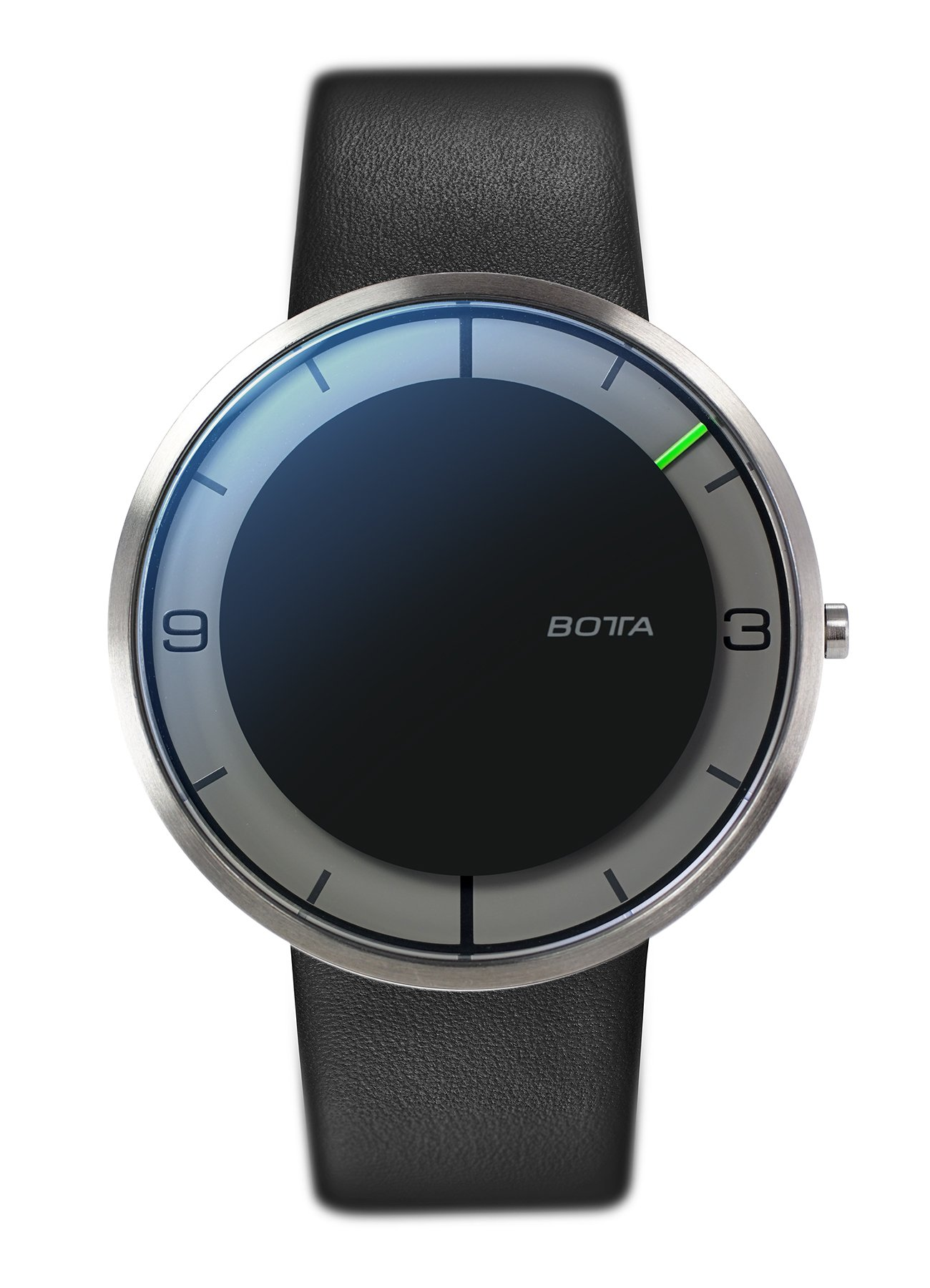BOTTA-Design-NOVA-Plus-Herren-Einzeigeruhr-Analog-Schweizer-Quarzwerk-mit-Lederarmband-750000
