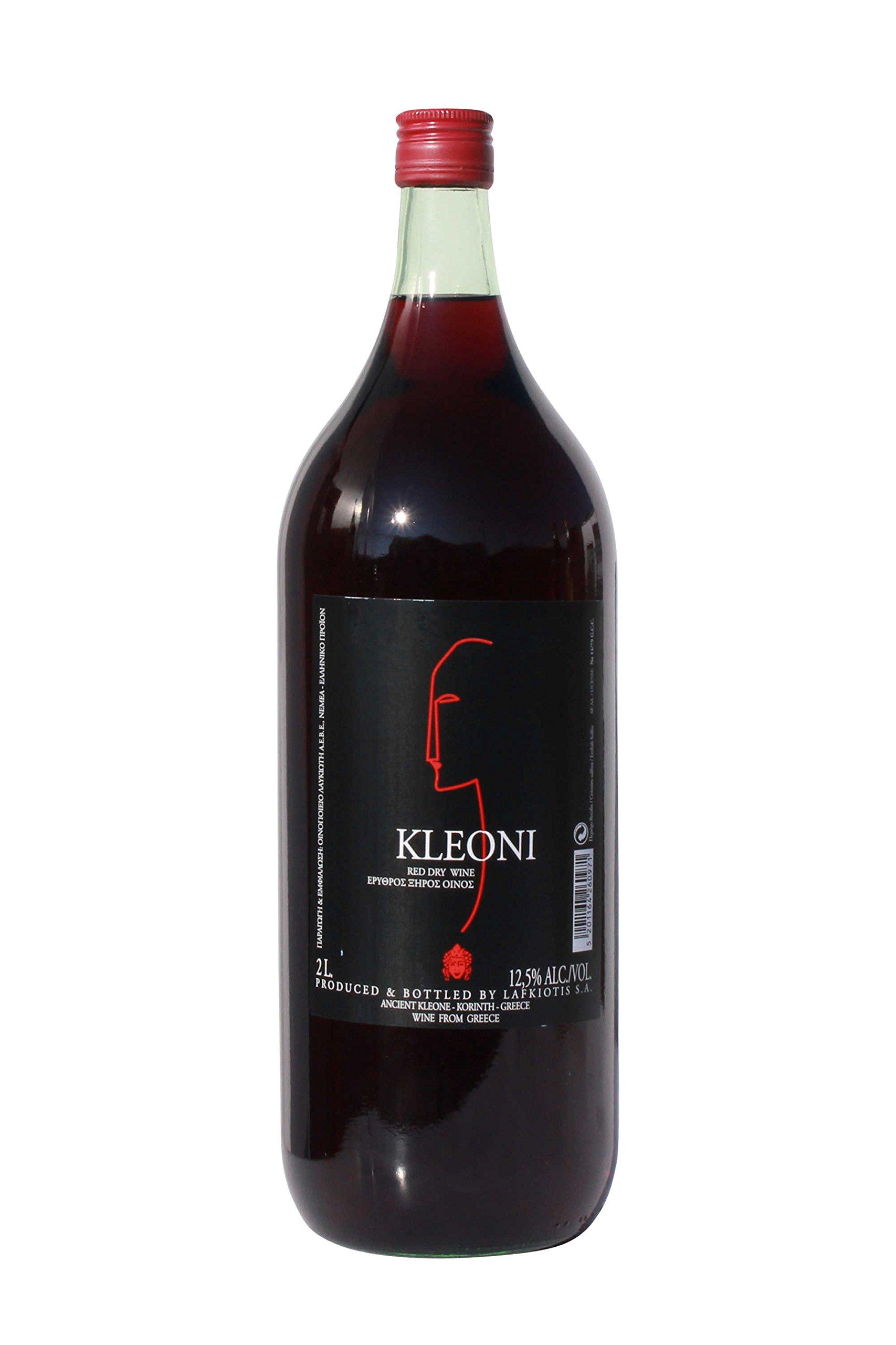 Kleoni-Rotwein-trocken-Lafkiotis-2-L-Flasche-griechischer-roter-Wein-Rotwein-Griechenland-Wein