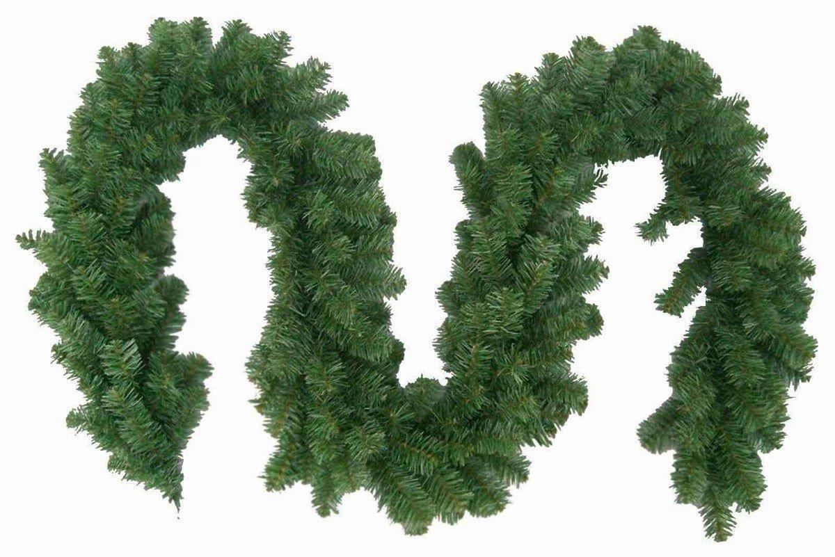 2-Stck-Weihnachtsgirlande-Tannengirlande-270cm-Weihnachtsdekoration-weihnachtliche-Fensterdekoration-Trdekoration-Weihnachtsschmuck-Tannengrn