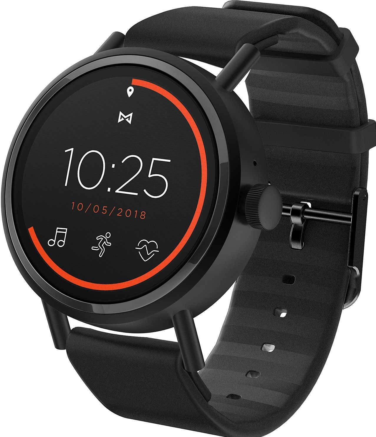 Misfit-Damen-Smartwatch-mit-Silikon-Armband-MIS7100