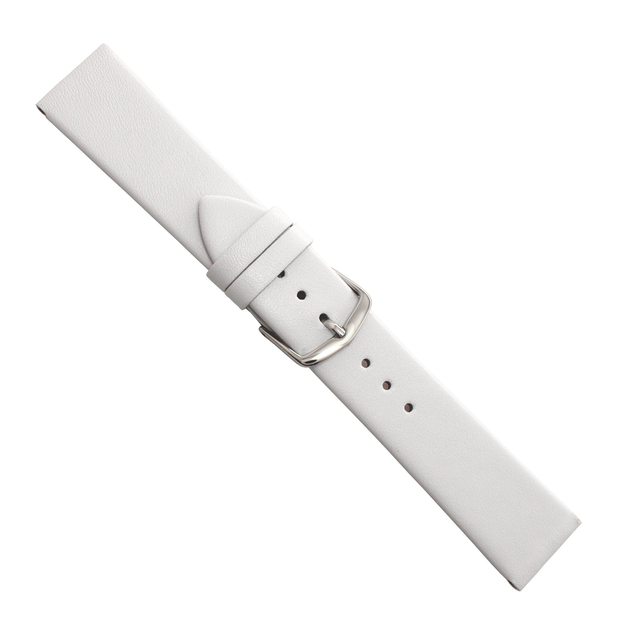 Uhrbanddealer-Damen-Uhrenarmband-New-Style-XS-Kalbsleder-Wei-16mm-Extra-Kurz-1711162s