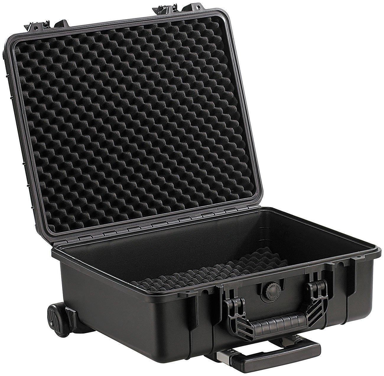 Xcase-Kamerakoffer-Staub-und-wasserdichter-Trolley-Koffer-475-x-39-x-20-cm-IP67-Rollkoffer