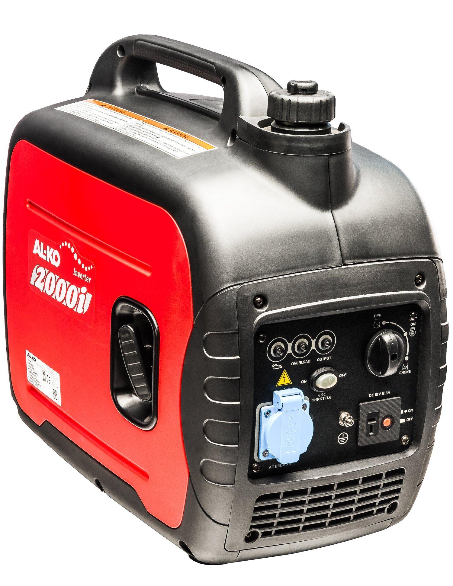 AL-KO-Stromerzeuger-2000i-16-kW-Motorleistung-79-ccm-Hubraum-4-Takt-5-Stunden-Laufzeit-max-4-L-Tankinhalt-21-kg-Gewicht-64-dBA-leise-Notstromaggregat-bei-Stromausfall
