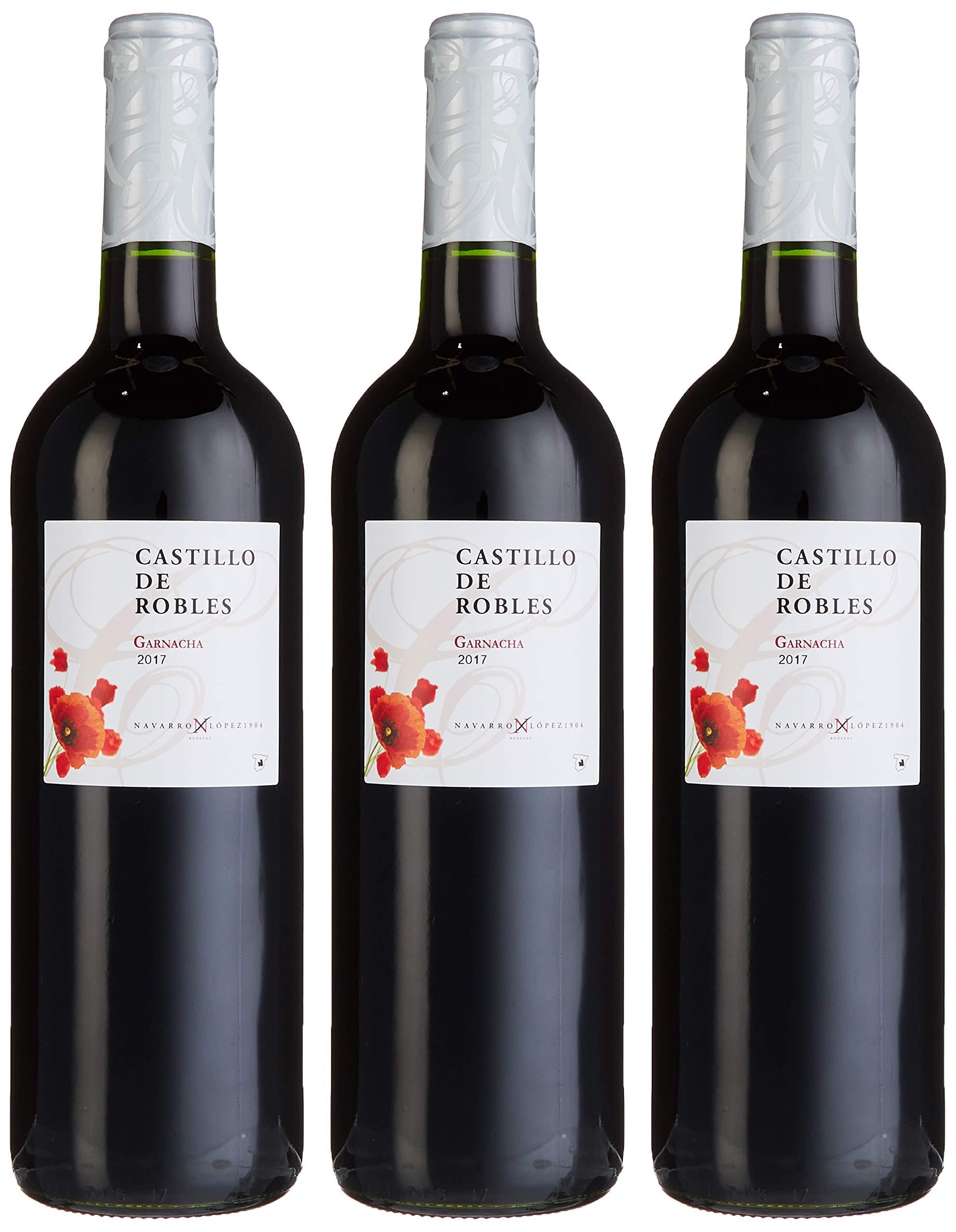 Navarro-Lopez-Castillo-de-Robles-Garnacha-Tinto-3er-Pack-3-x-750-ml