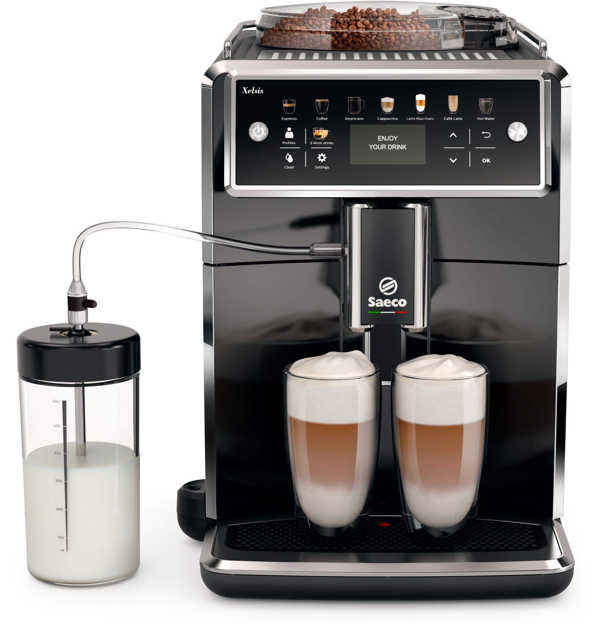 Saeco-Xelsis-SM758000-Kaffeevollautomat-LED-Display-DE-Version-pianoschwarz