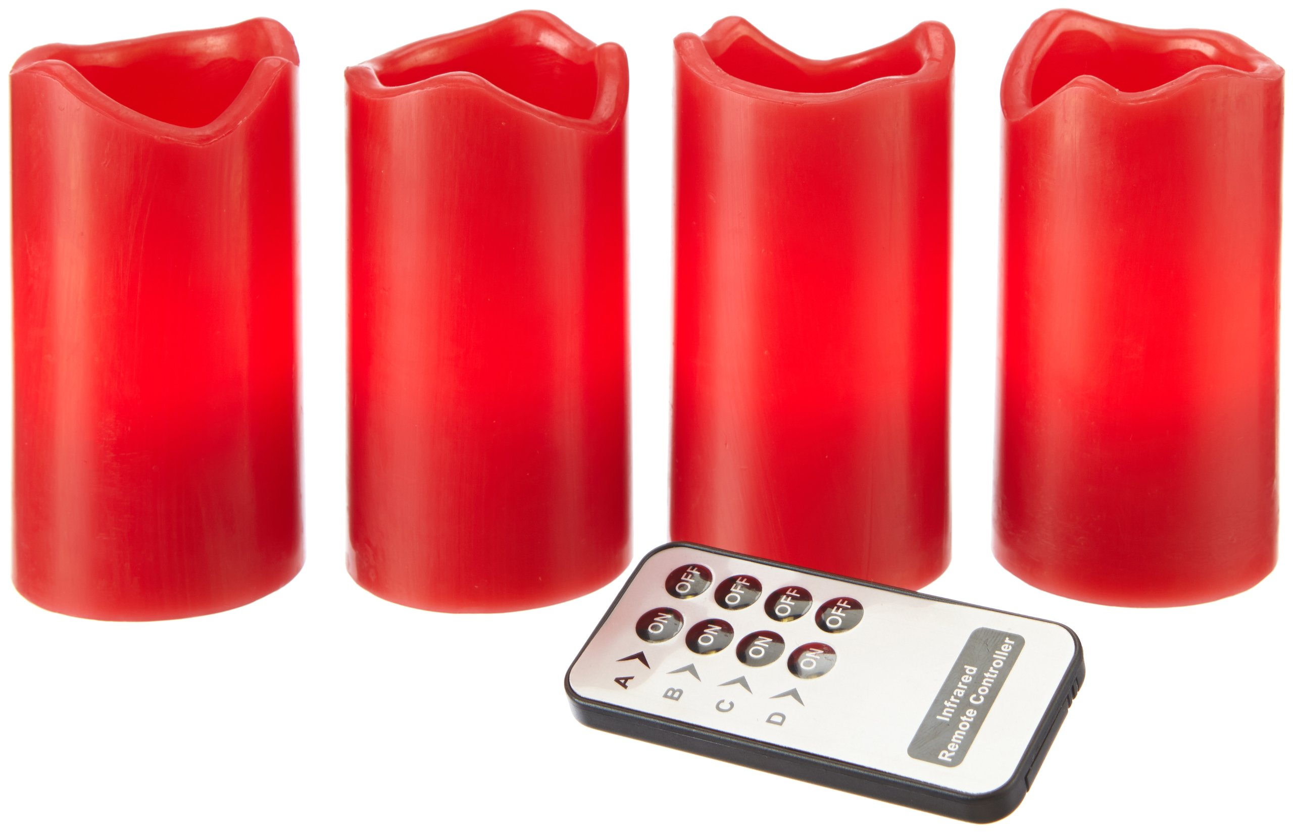 Best-Season-4-er-LED-Wachskerzenset-mit-FernbedienungKerzen-einzeln-schaltbar-10-x-55cm-inklusiv-Batterien-Sichtkartonrot-067-12