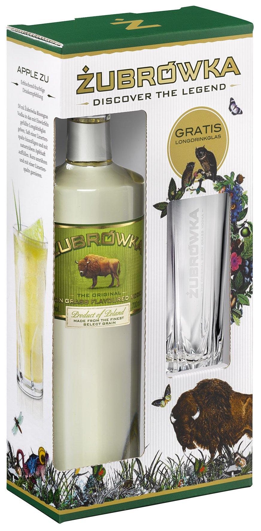 Zubrowka-Geschenkset-mit-Longdrinkglas-Wodka-1-x-07-l