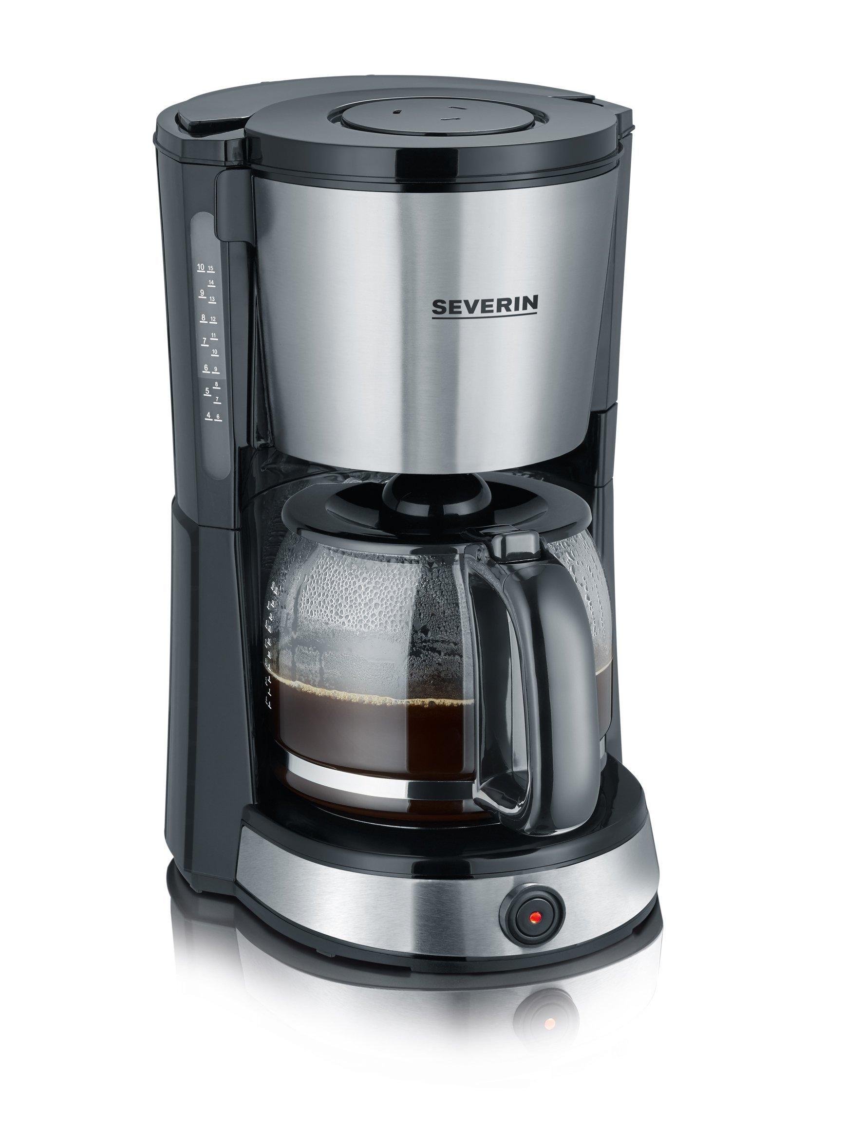 Kaffeeautomat-Select-ca-1000-W-bis-10-Tassen-automatische-Abschaltung-Aromafunktion