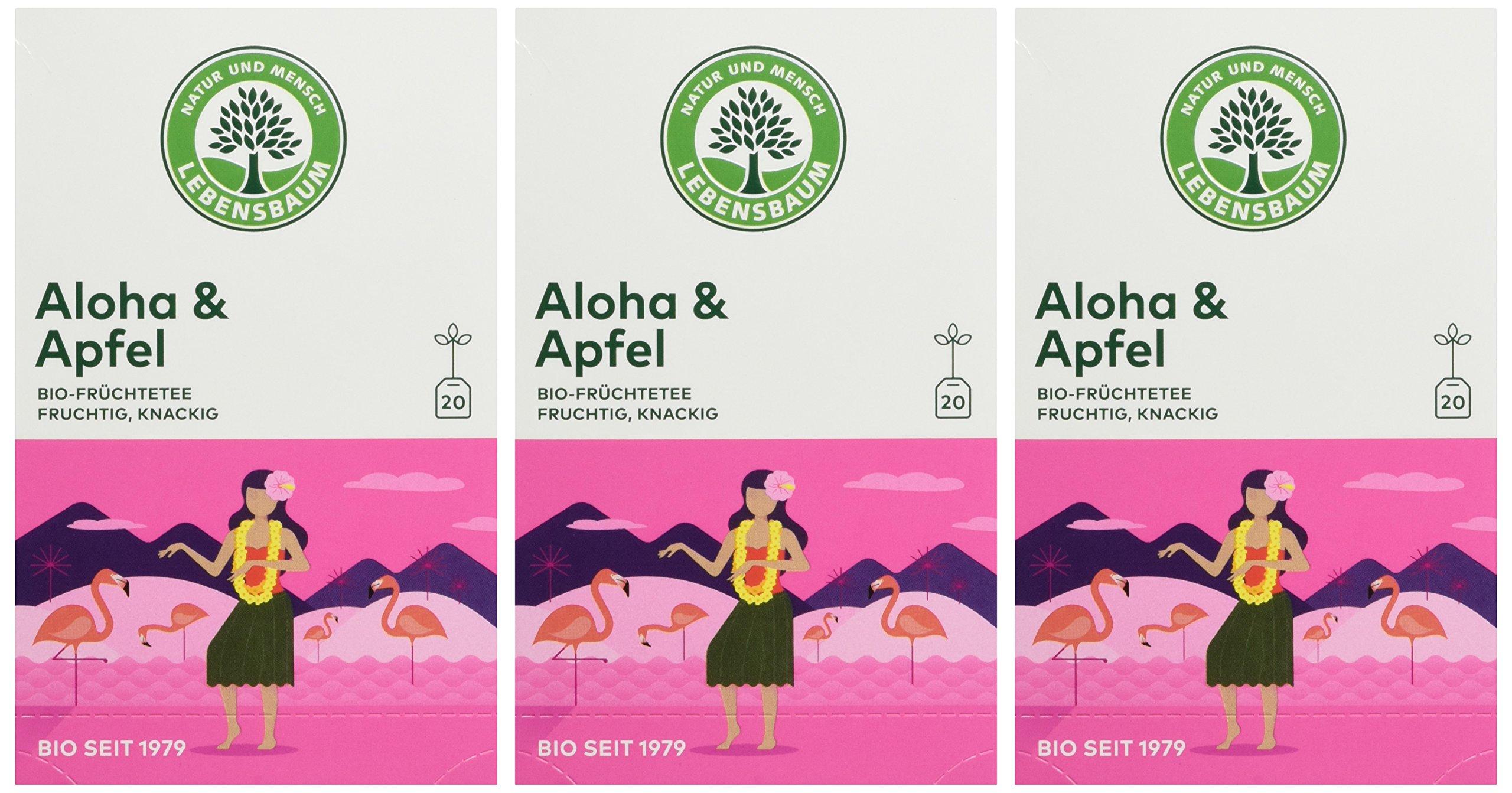 Lebensbaum-Bio-Frchtetee-Aloha-und-Apfel-3er-Pack-3-x-40-g