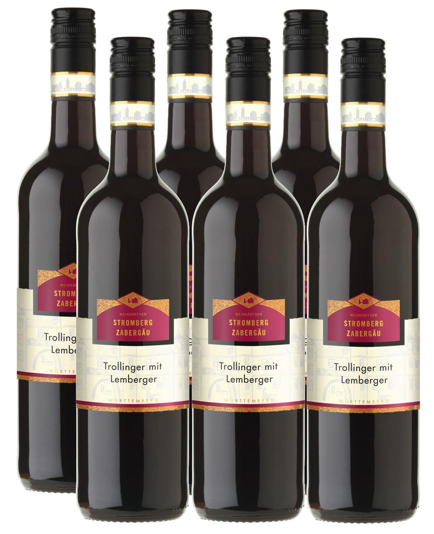 Trollinger-mit-Lemberger-StrombergZabergu-rot-halbtrocken-115-vol-6er-Paket