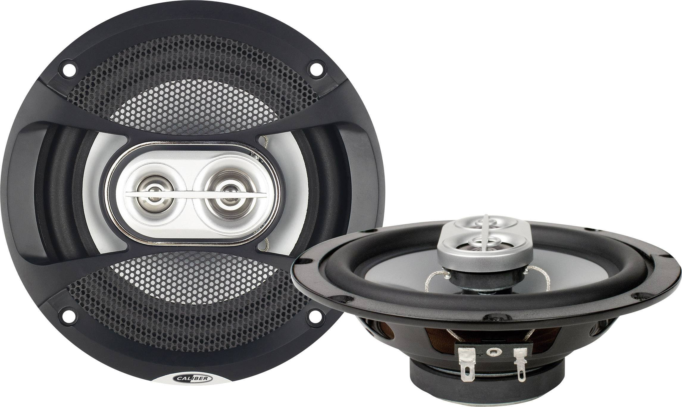 Caliber-CDS16G-2-Wege-Lautsprecher-mit-Grille-65-Zoll-Schwarz