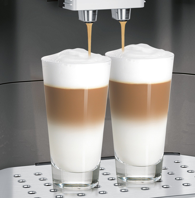 Bosch-tes60523rw–Espressomaschine-freistehend-vollautomatisch-Machine-Kaffeebohnen-gemahlener-Kaffee-schwarz-grau-5060-Hz