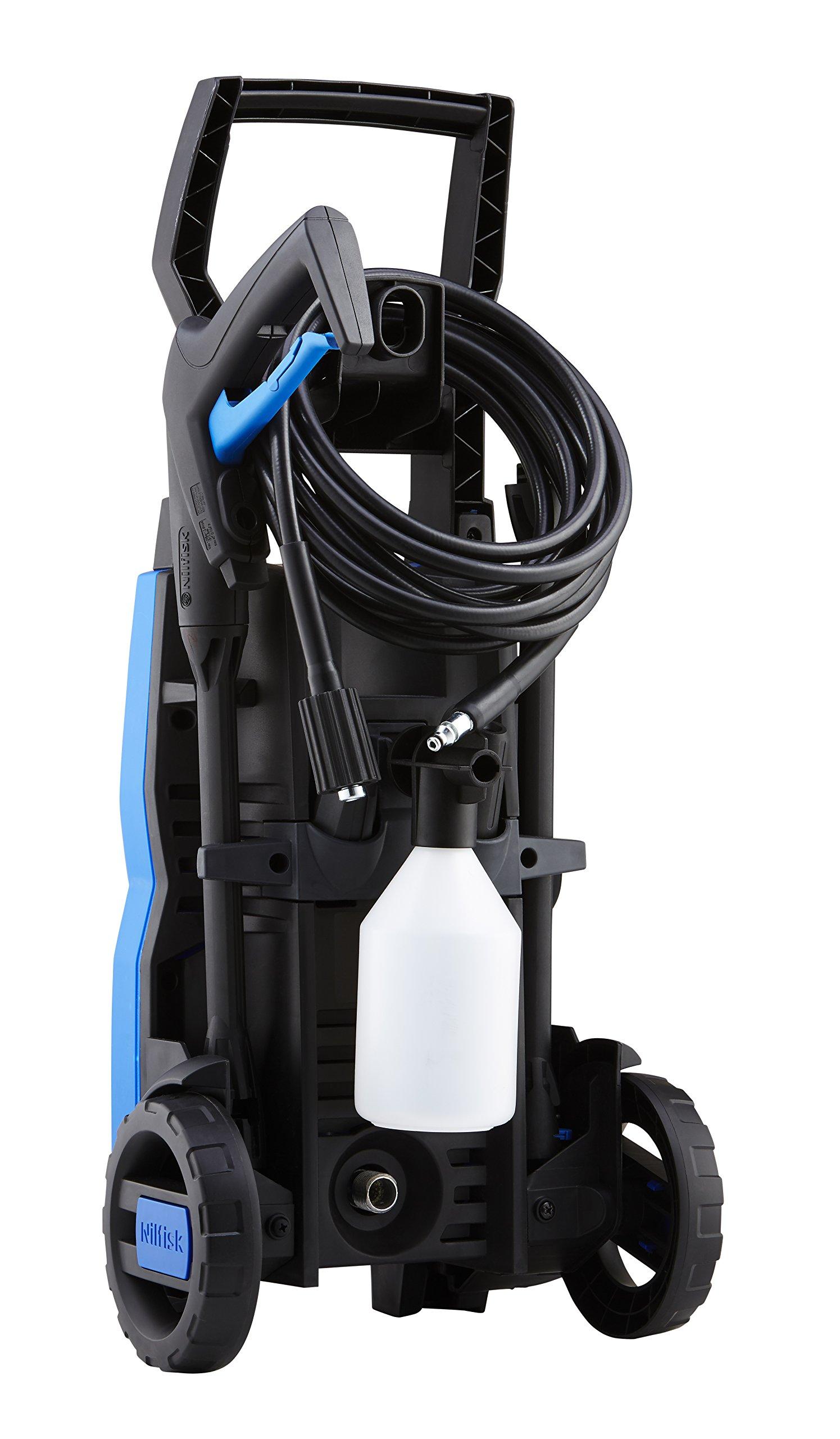Nilfisk-C-110-bar-Hochdruckreiniger-inkl-Compact-Patio-Flchenreiniger-und-Rohrreinigungs-Set