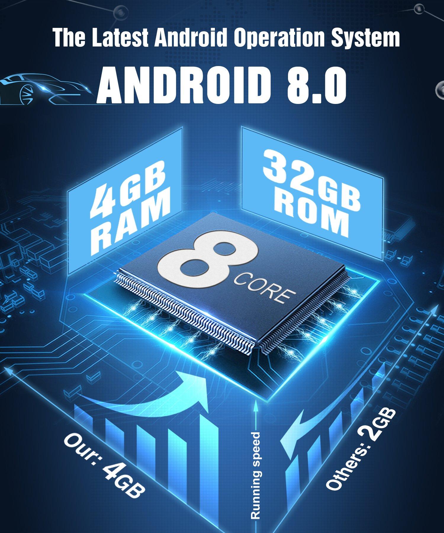 PUMPKIN-Android-80-Autoradio-4GB-DVD-Player-fr-VW-mit-Navi-8-Zoll-Bildschirm-Untersttzt-Bluetooth-DAB-WLAN-4G-Android-Auto-USB-MicroSD-Subwoofer-MirrorLink-AV-OUT-Fastboot-2-DIN