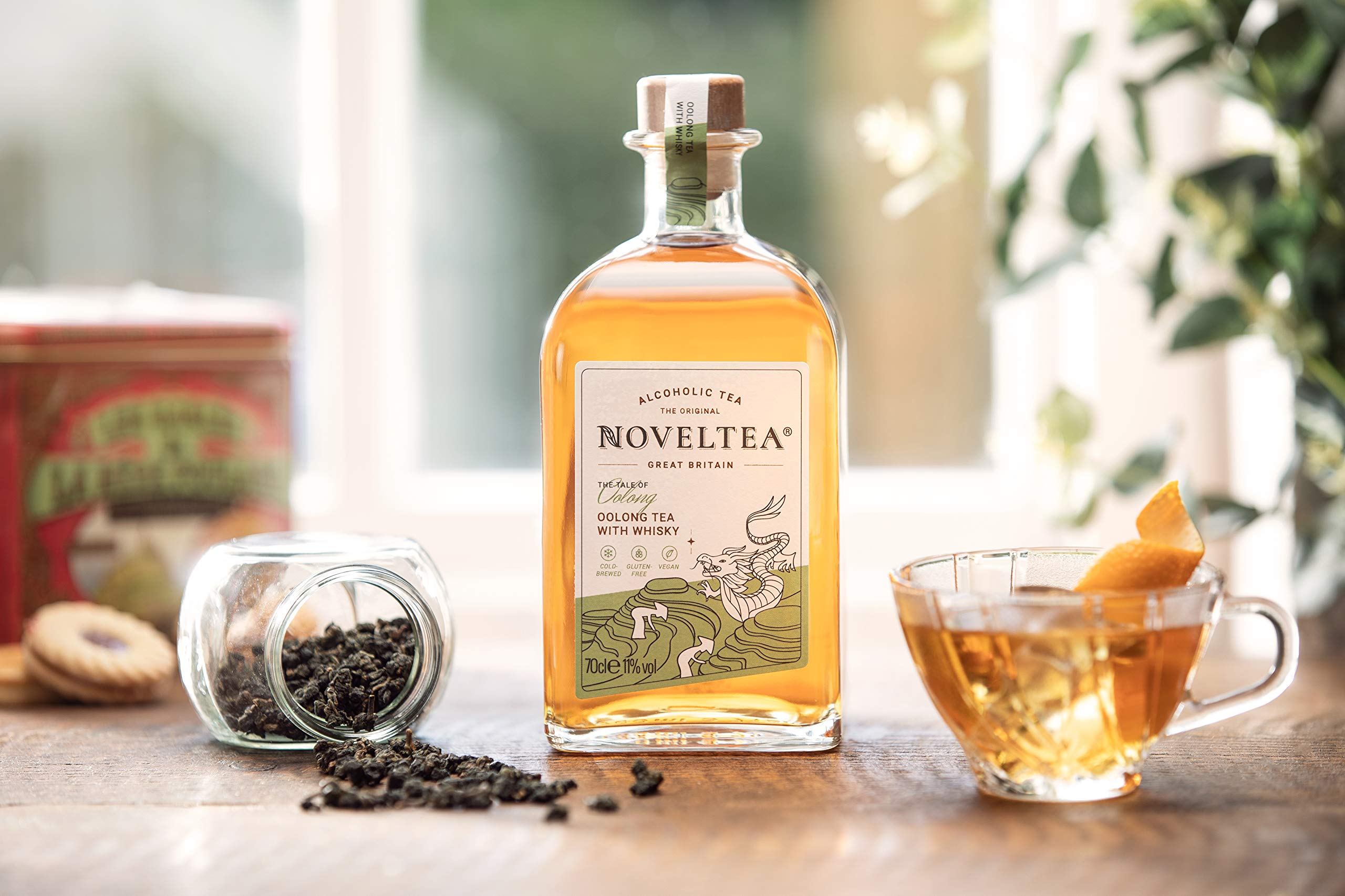 Noveltea-Alkoholischer-Tee-2er-Set-The-Tale-of-Oolong-Tangier-2-x-700ml-Die-Hhle-der-Lwen-WhiskyRum-11-Vol