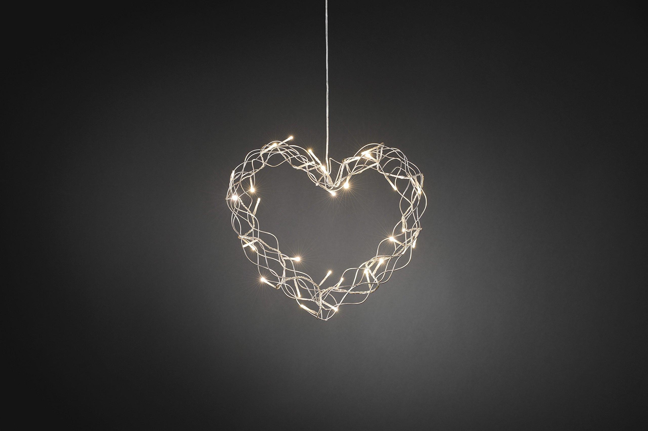 Drahtsilhouetten-Herz
