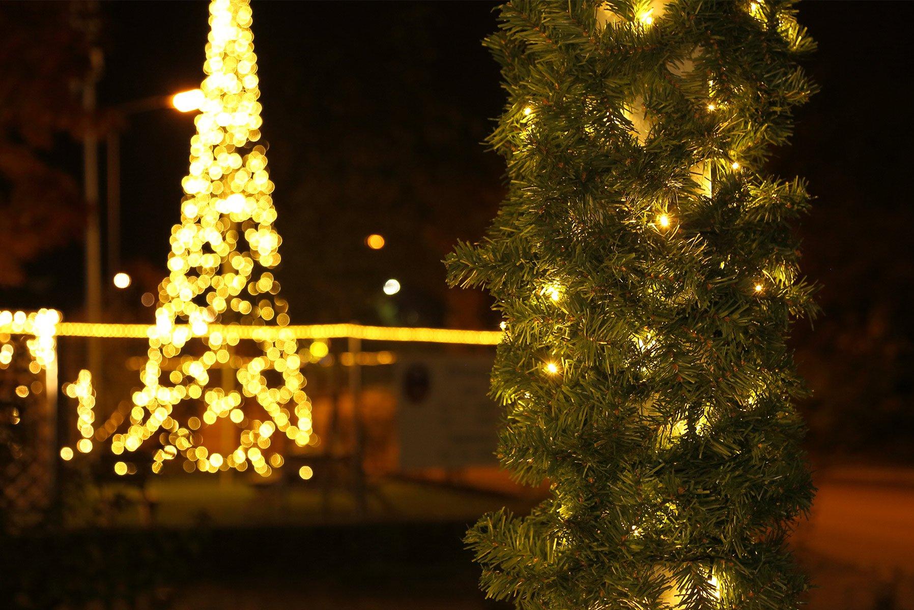 Gartenpirat-Trgirlande-Lnge-5-m-mit-80-LED-knstliche-Tannengirlande-Beleuchtet