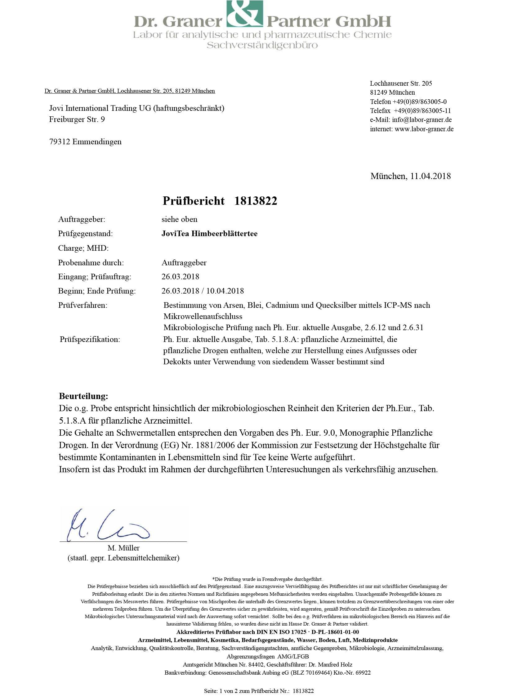 JoviTea-Himbeerblttertee-BIO-80g-Krutertee-auch-whrend-der-Geburtsvorbereitung-Schwangerschaftstee-100-natrlich-und-ohne-Zusatz-von-Zucker-Aus-biologischem-Anbau