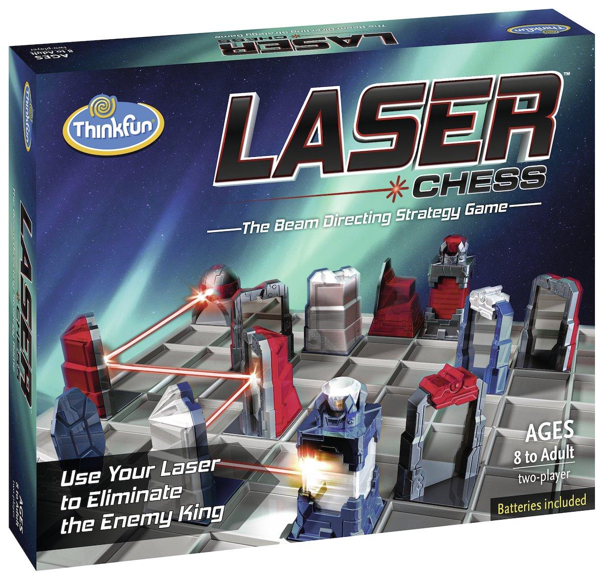 Ravensburger-76350-ThinkFun-Laser-Chess-Spiel-Smart-Game