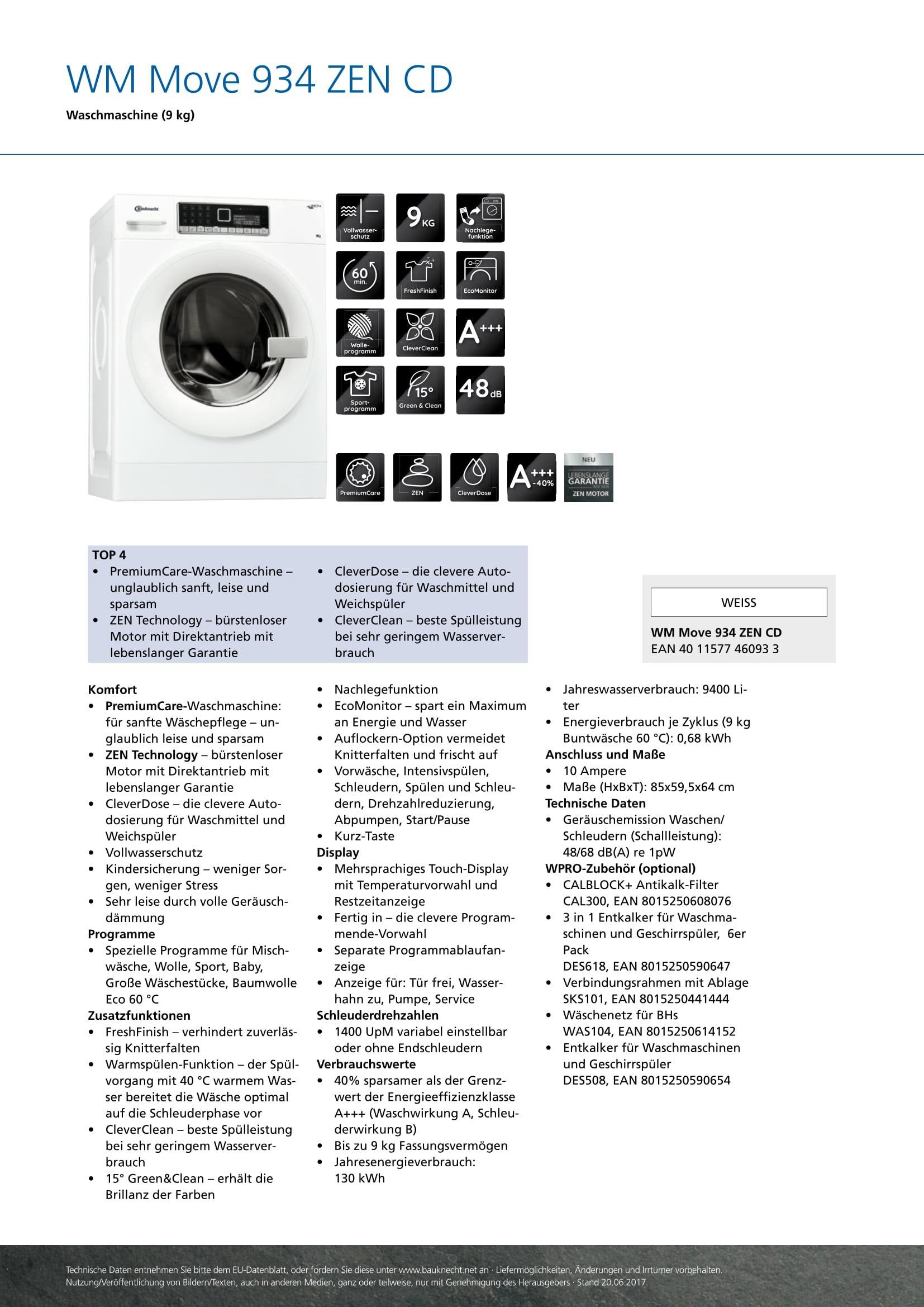 Bauknecht-WM-Move-934-ZEN-CD-A-9-kg-ZEN-Technologie-CleverDose-CleverClean-wei