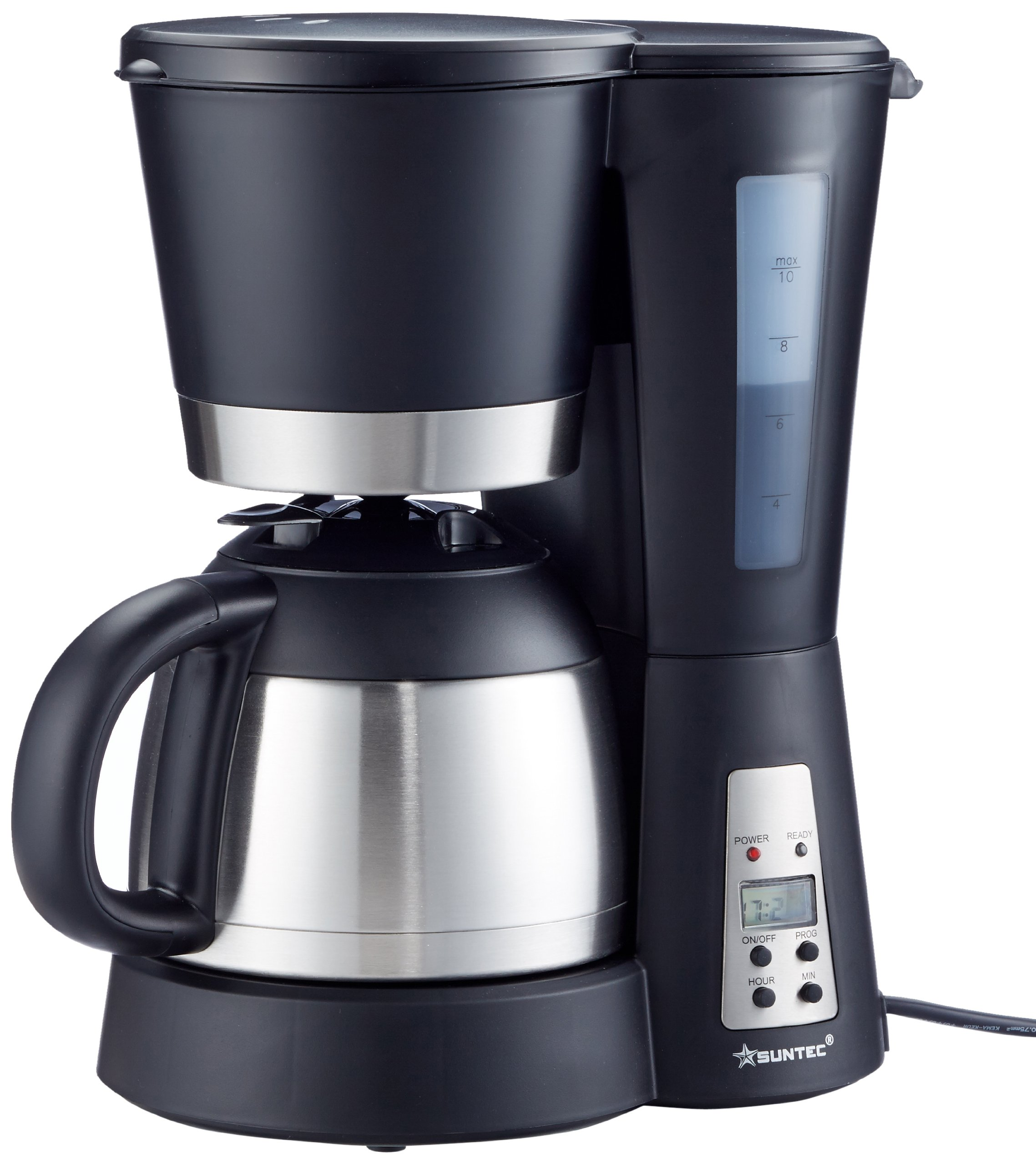 SUNTEC-Filter-Kaffeemaschine-KAM-9004-Mit-Timer-Programmierung-Anti-Tropf-Feature-Thermoskanne-10-l-max-800-Watt