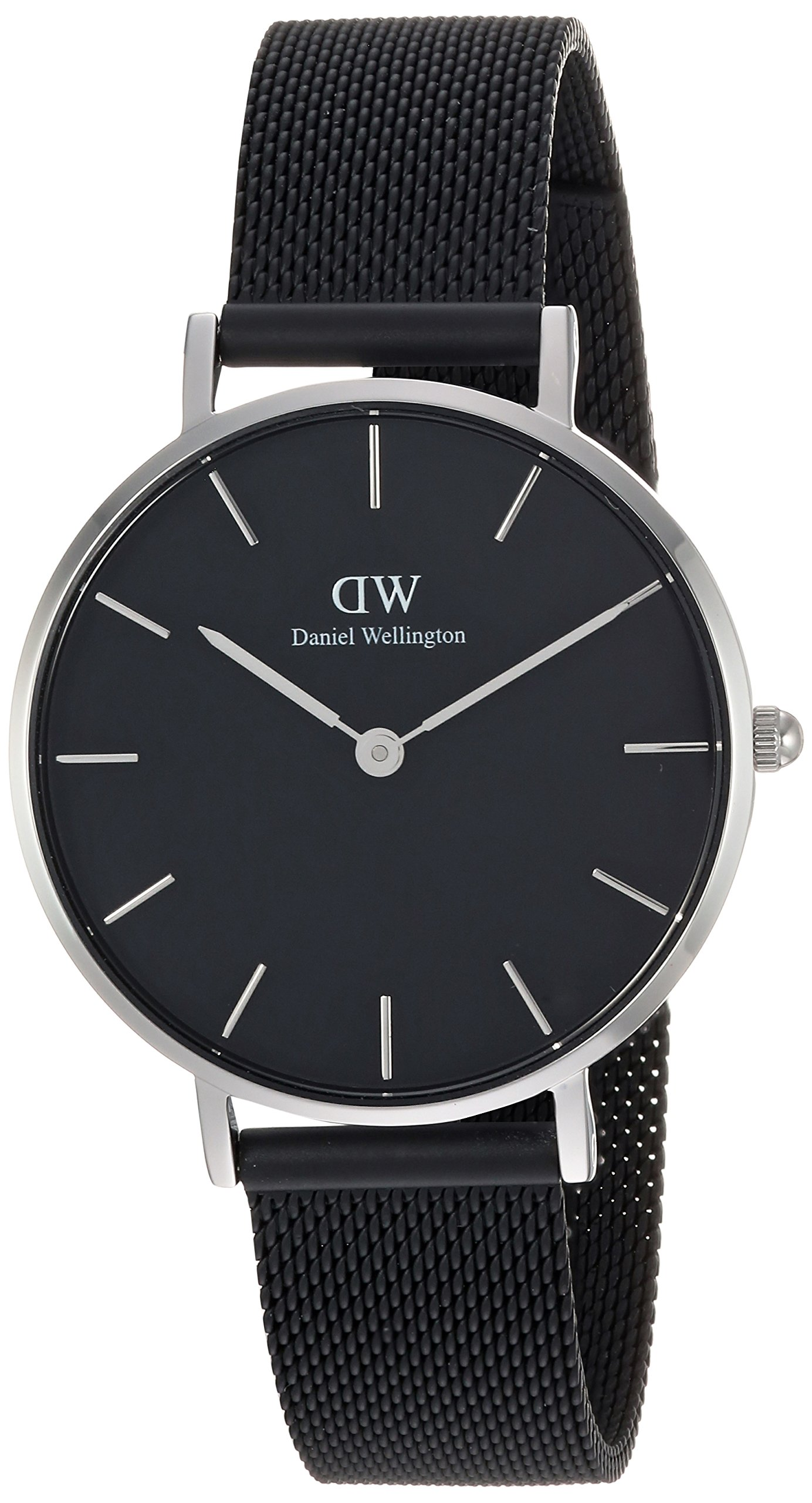 Daniel-Wellington-Damen-Analog-Quarz-Uhr-mit-Edelstahl-Armband-DW00100202