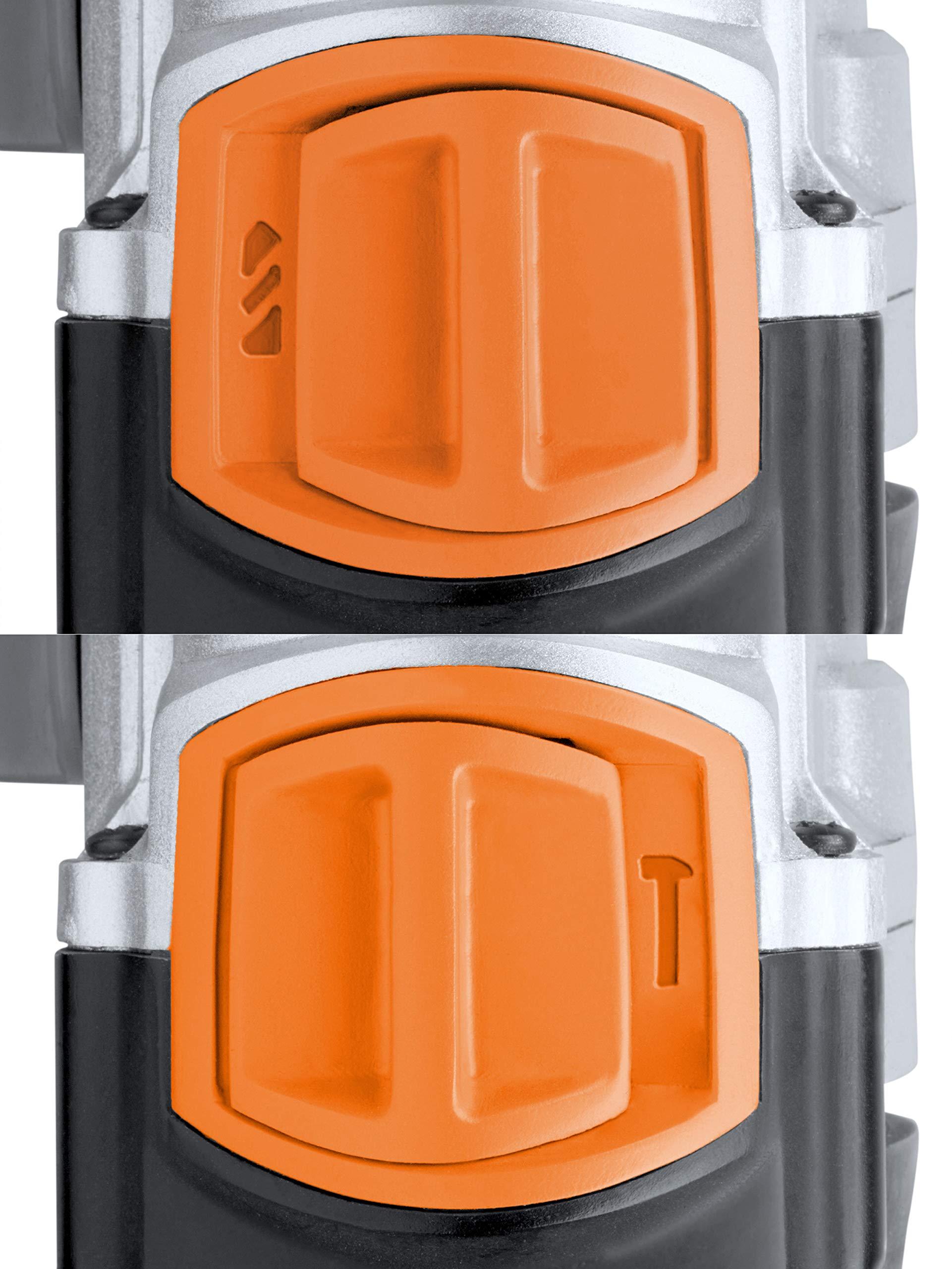Meister-Schlagbohrmaschine-1100-W-MSB1100-2-Schnellspannbohrfutter-Drehzahl-Vorwahl-2-Gang-Getriebe-Zusatzhandgriff-Tiefenanschlag-Bohrmaschine-Schlagbohrer-fr-Beton-Metall-5452410