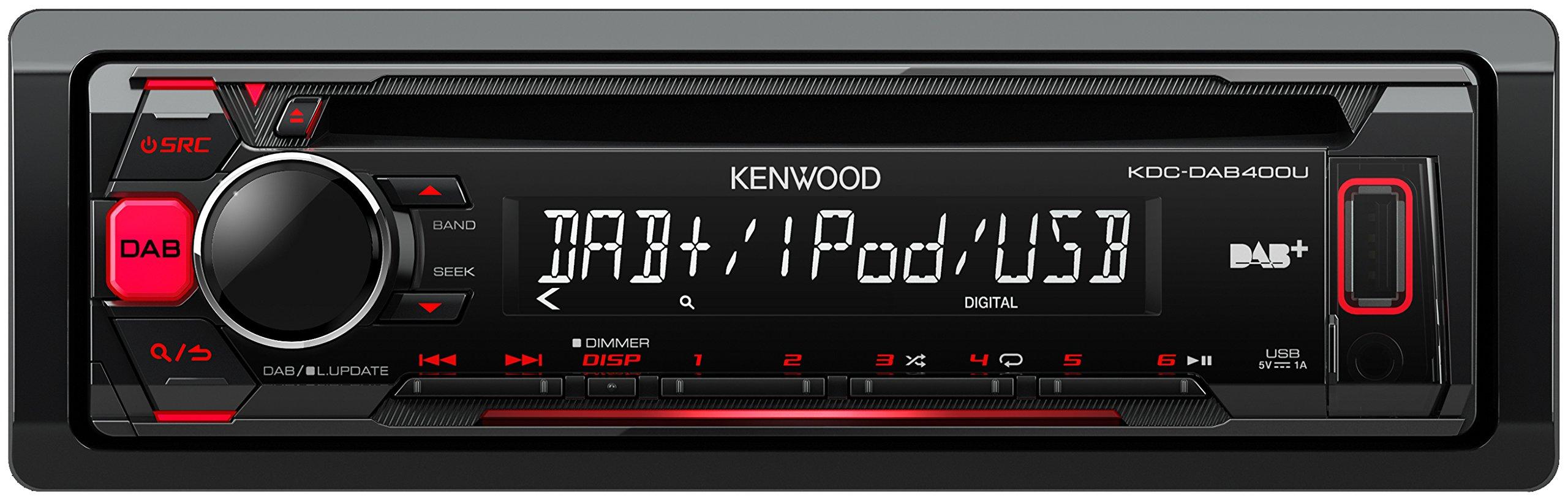 Kenwood-KDCDAB400U-Digitalautoradio-mit-CDUSB-und-Apple-iPod-Steuerung-schwarz