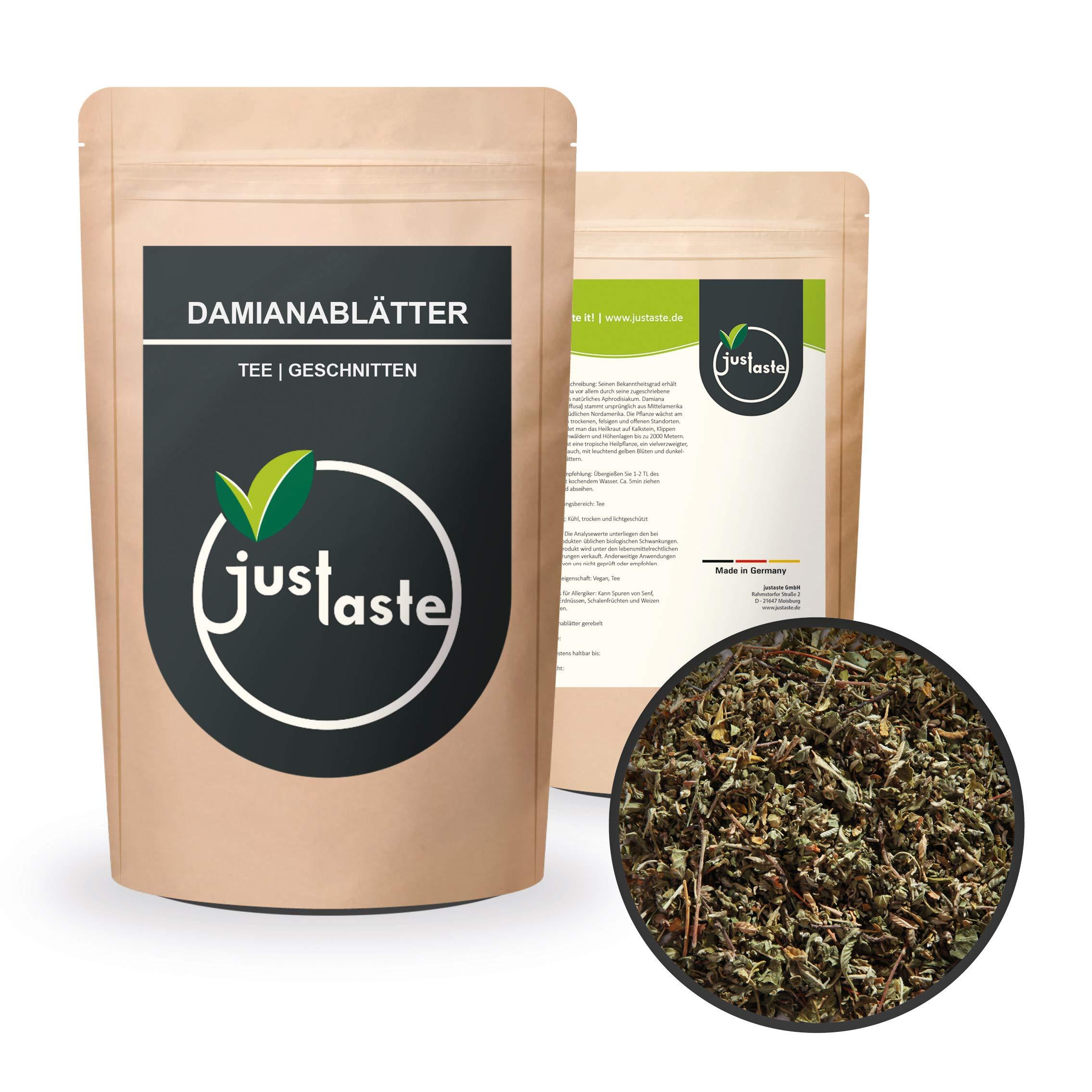 200-g-Damianabltter-Damiana-Tee-geschnitten-Rucherwerk-justaste-Scutellaria-lateriflora-ruchern