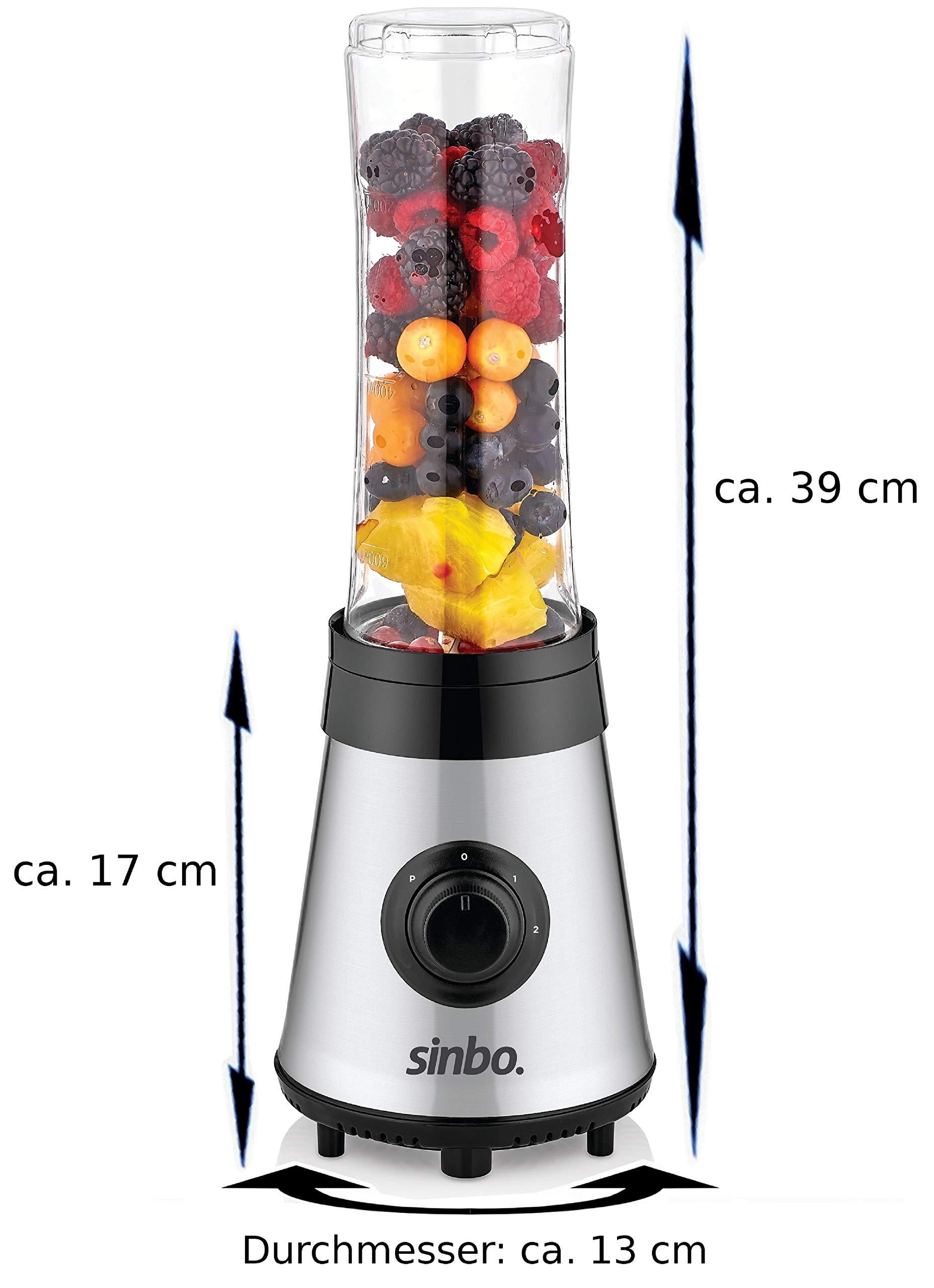 3in1-Standmixer-Smoothie-Maker-Kaffeemhle-Smoothie-to-go-Mixer-Universal-Mixer-Glas-Behlter-Universal-Power-Mixer-24000-Umin-Edelstahl-800ml-600ml-300ml-Behlter-BPA-FREI